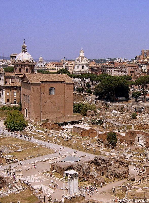 Esta Roma es una ruina