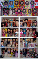 Same wall, more dolls!