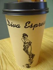 Diva Espresso Coffee Cup