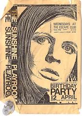 sunshine playroom -birthday party 1989 ?