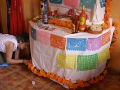 Altar de muertos en Málaga /2006/01