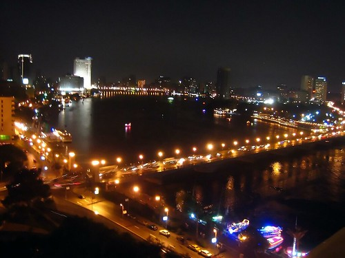 The Nile Hilton's View of the Nile