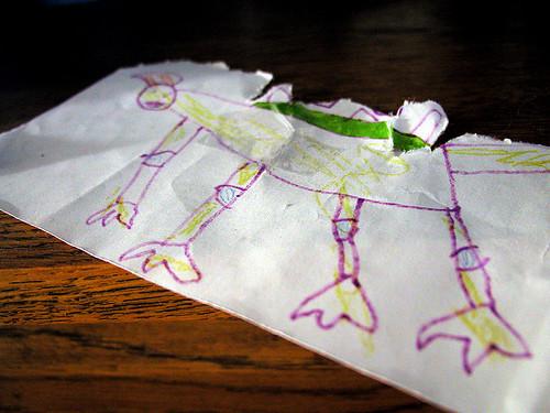 envelope creature