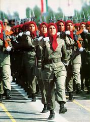 Ejercito femenino Irani