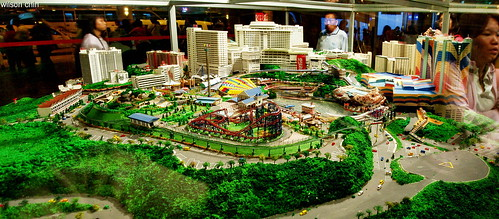 genting model scale