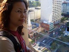 從鐘樓頂端俯瞰市區