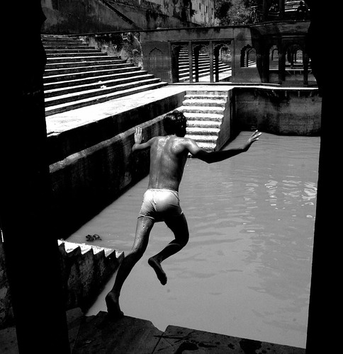 Swimfan. A Series of photographs I took on a dry July afternoon in Alwar, ...