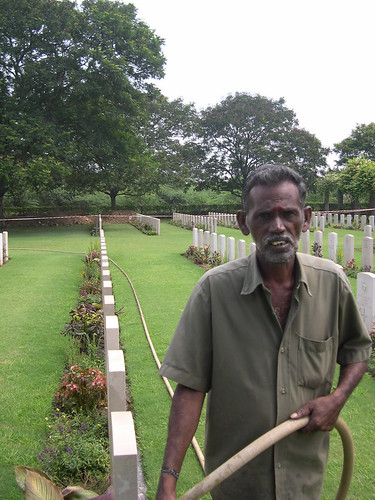 Mr Munuswamy, Gardener, Madras War Cemetery