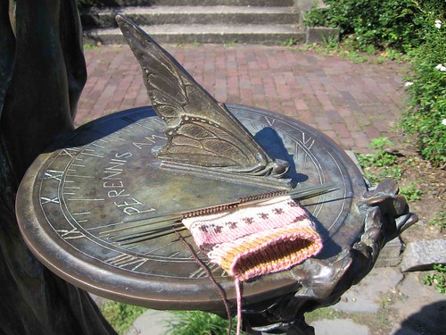Sock on sundial