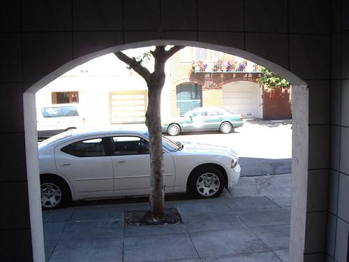 my very american rental car