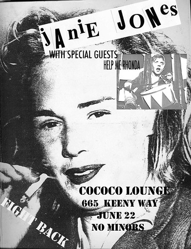Janie Jones at the Cococo