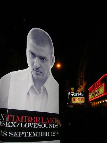 justin timberlake post MTV awards show