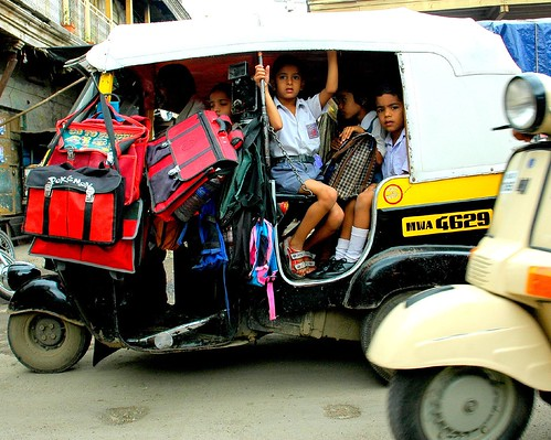 The Indian School Bus