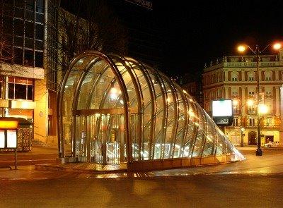 Abando station in Bilbao