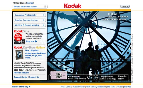 Kodak US website