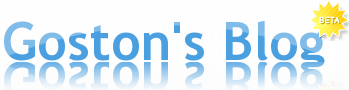 Goston's Blog Logo