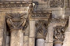 Salah satu sudut bangunan kota Paris