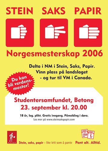 Norwegian Rock Paper Scissors Championships 2006