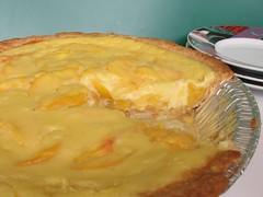 Peach Sour Cream Pie