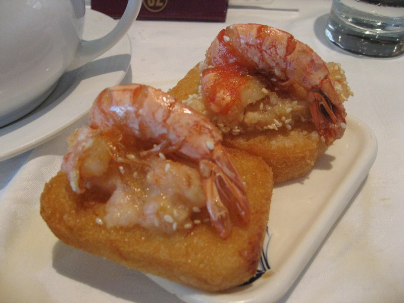 Vietnamese Shrimp Toast Shrimp toast.