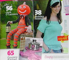 Simply Knitting Magazine Pumpkin