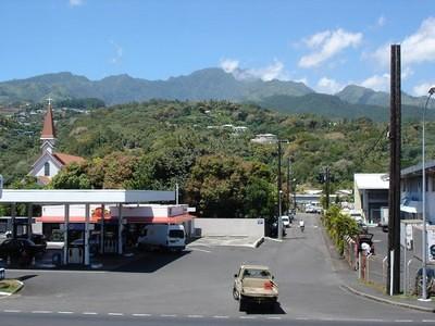 Vue de ma fenêtre - Tahiti