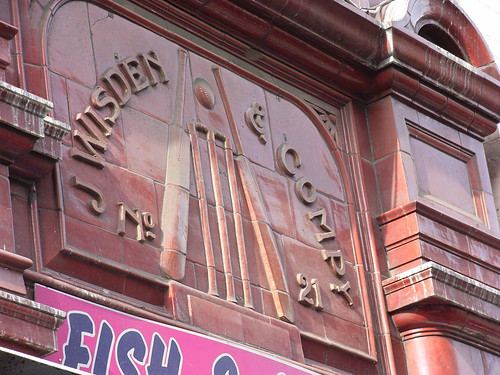 Where John Wisden worked
