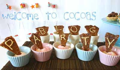 Welcome to Cocoa's Blog Party