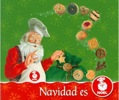 Galletas Noel