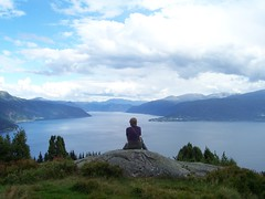 Overlooking the Sognefjord