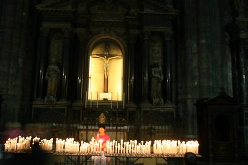 Interior Altar, Milan's Duomo