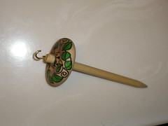 Hand Painted Spindle
