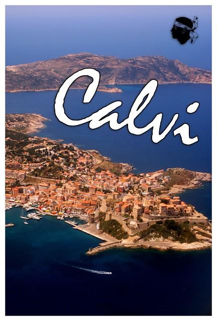 Calvi Postcard