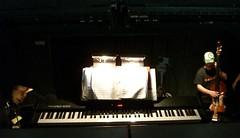 Evita orchestra pit