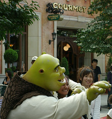 shrek greetings USJ