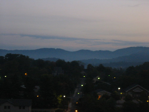 dawn in asheville