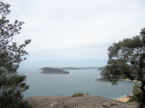Lion Island & Pittwater from Mount Ettalong