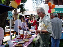 Barry Bostwick at the pie festival