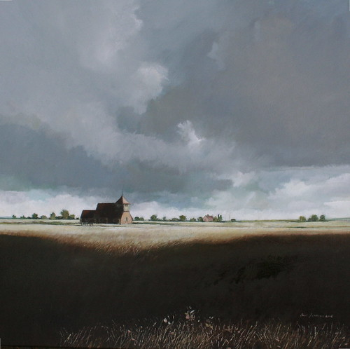 St Thomas a Becket Romney Marsh (Oils)