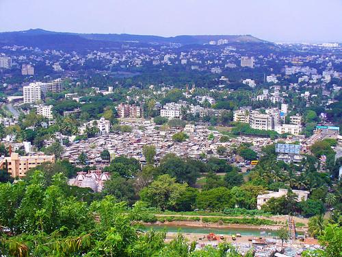 Vue de Pavarti Hill