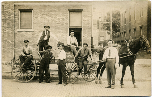 Postcards: Monmouth Gas Workers