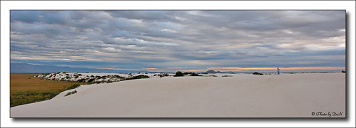 White Sands sunrise wide