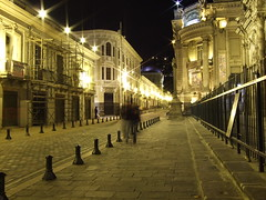 it all seems golden - Quito at night photo by *benjamin*