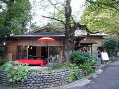 上野公園の茶屋