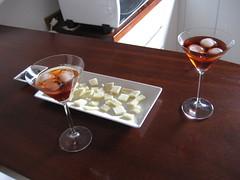 Hoy ha habido cocktail aperitivo