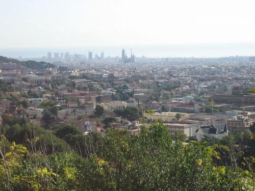 Barcelona from Collserola Park