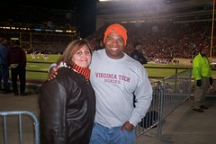 me and Jesse at Lane Stadium