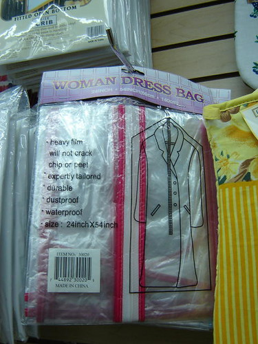 As opposed to a man-dress bag.