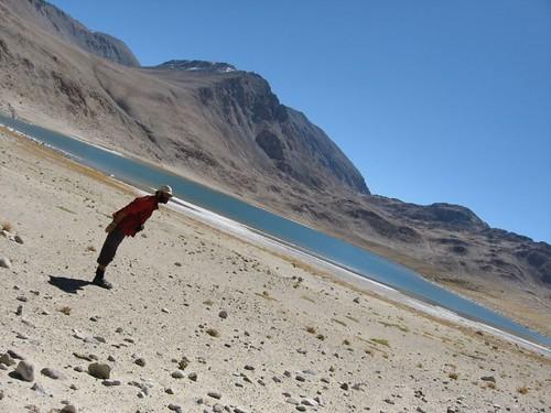 Lake near Khargush Pass, Tajikistan / ハルグシュ峠付近の湖、タジキスタン