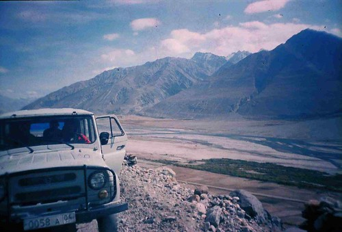 On the way up to Bibi Fatima hotspring in Yamchun, Tajikistan / ビビファチマ温泉へ登る途中(タジキスタン、ヤムチュン村)